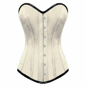 Attractive Satin Overbust Corset Top